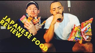 FOOD REVIEW JAPANESE CANDY 2018