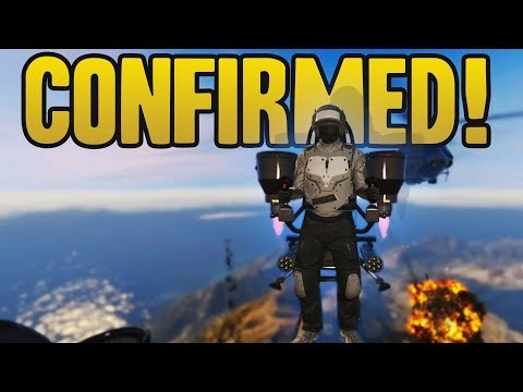 Jetpack Confirmed! (Mount Chiliad Underground Base, Huge Submarine & More!)