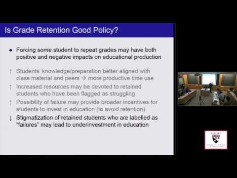 PIER Public Seminar - Jonah E. Rockoff, Columbia School of Business