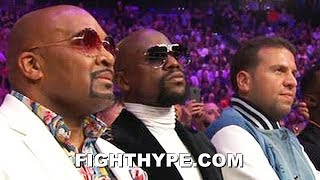 "FLOYD MAYWEATHER REACTION TO PACQUIAO DROPPING AND BEATING THURMAN: ""NOT SURPRISED"""