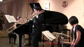 ドラマ「あまちゃん」のオープニングテーマ、 トロンボーン・ピアノ・パ...