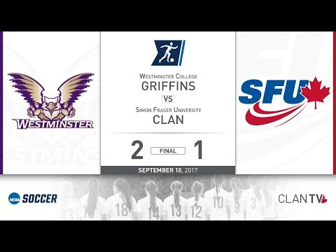 SFU Clan Women's Soccer vs. WC - September 10, 2017