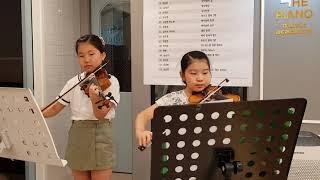 더피아노음악학원 바이올린 듀엣