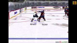 Darren Pang In NHL Faceoff 2000
