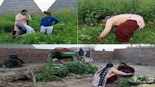 #Mylife style my daily work||Village life happy Life||punjabi cooking and punjabi cultures
