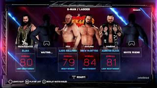 nL Live - WWE 2K18 DLC Gameplay! [Online - 11/22/17]