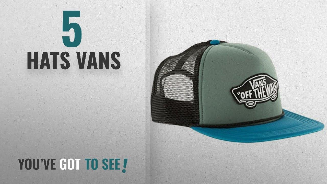 0b255c09ca5 Top 10 Hats Vans  2018   Vans Men s Classic Patch Trucker Baseball ...