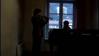 Elfen lied - Lilium (piano violin)
