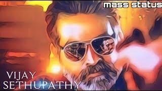 Vijay sethupathy mass whatsapp status |sethupathi movie whatsapp status