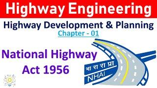 National Highway Act 1956 in Hindi | Highway Engineering