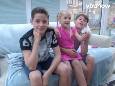 LIVE on YouNow September 9, 2016