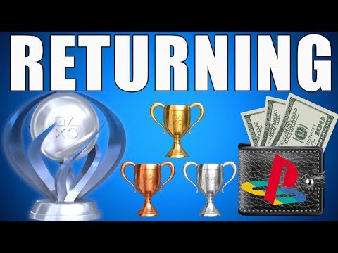 PS4 UPDATE - Trophies Give FREE PS4 Games w/ Sony Rewards RETURNING? (Playstation News)