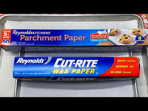 Parchment Vs Wax Paper Knowledge Tips And Tricks Youtube