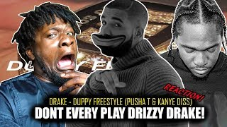 Drake - Duppy Freestyle (Pusha T & Kanye West Diss) REACTION!