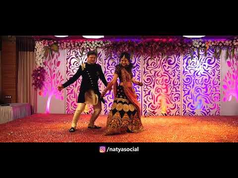 Badri Ki Dulhania - Awesome Dance Performance by Bride & Groom | Natya Social
