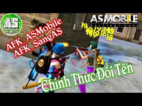 [Garena Free Fire] AFK_ASMobile Đổi Tên Đấu Giải | AS Mobile
