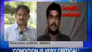 Indian Prisoner Sarabjit is in critical condition in Lahore Hospital