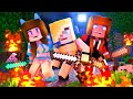 Psycho Girl Show #1 - Psycho Girl's Epic Mob Fail *Minecraft Roleplay*