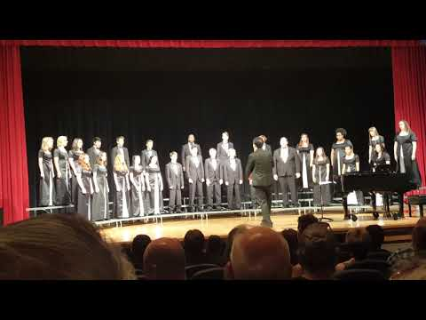 """Daniel, Daniel, Servant of the Lord"" Veterans High School Concert Chorale"
