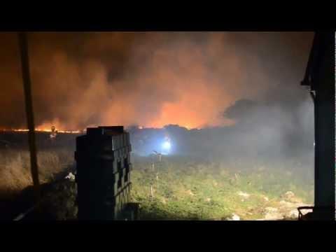 Bearna Spideal Furbo Gorse Fires April 2013