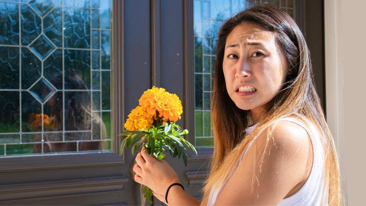 I GOT MY CRUSH FLOWERS!! (CONFRONTING MY CRUSH)