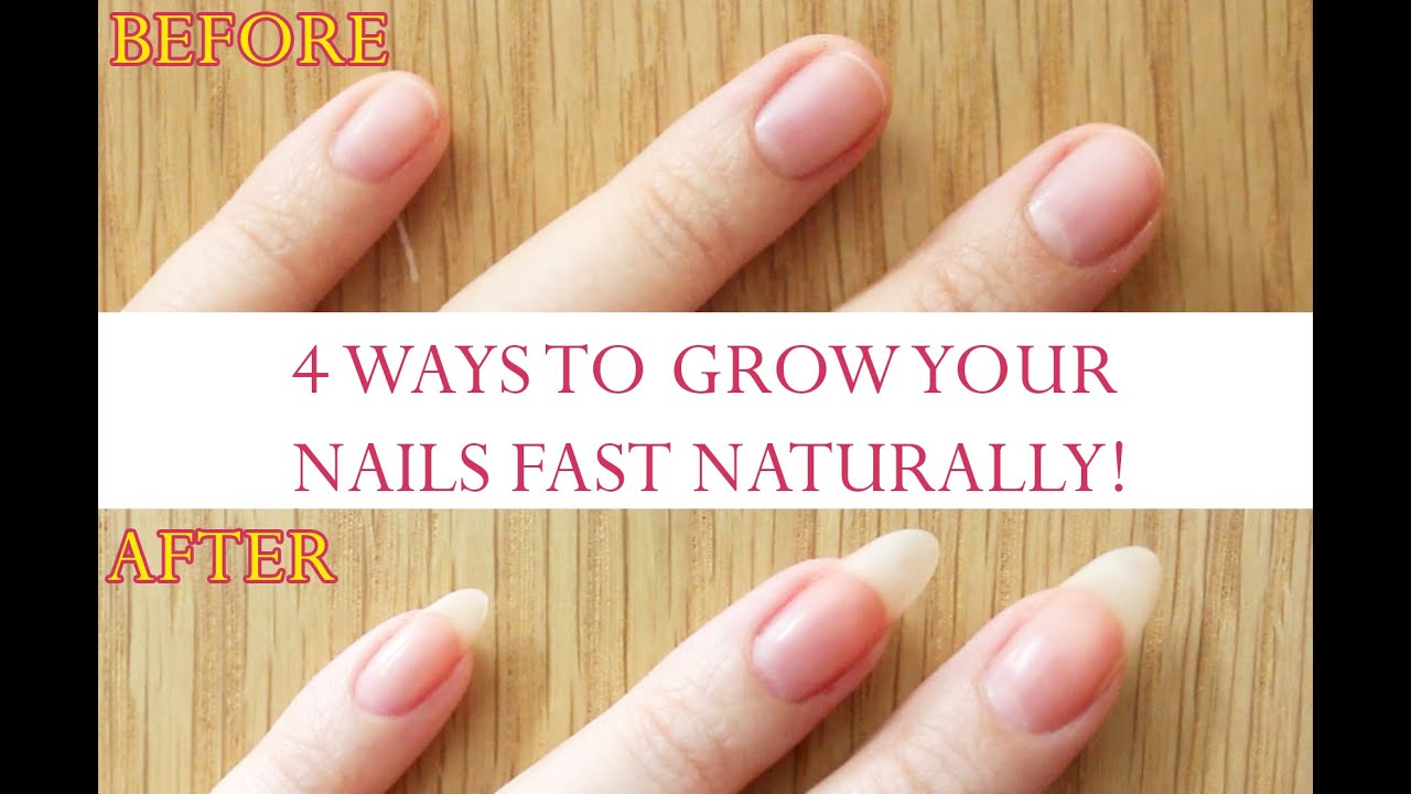 Natural Ways To Make Your Nails Grow