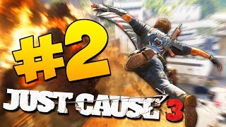 Just Cause 3 Прохождение - Взрывной Адреналин 2 60 FPS