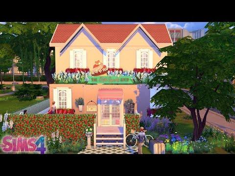 Cafeteria de CupCake ♦ Speed Build - The Sims 4