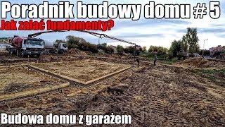 Budujemy dom - poradnik. Jak zalać fundamenty? Czy wystarczyło betonu?  #5 18+