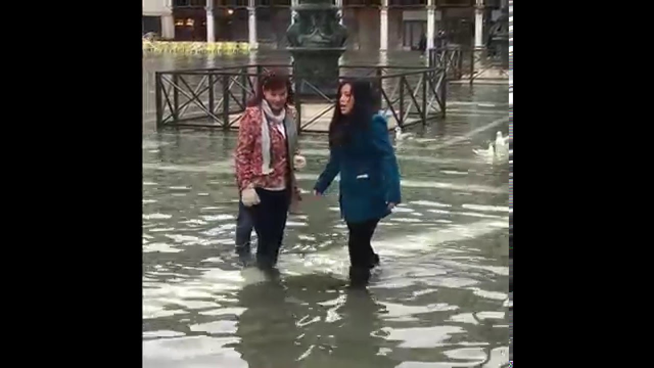 Flooding In Venice. Acqua Alta - YouTube