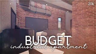 Roblox || Welcome to Bloxburg: Budget Industrial Apartment || Speedbuild