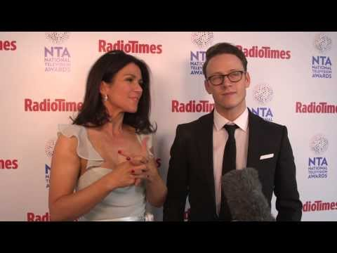National Television Awards 2014: Radio Times meets Susanna Reid and Kevin Clifton
