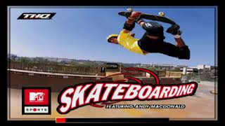 MTV Sports: Skateboarding Featuring Andy Macdonald (PS1) w/ TheBaconThief