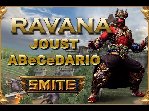 SMITE! Ravana, Regresa del pasado para vengarse! Joust Abecedario #53