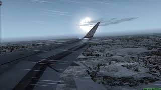 Landing at Kansas American A320 - [Runsame Classics] FSX