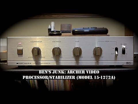 Oddity Archive: Episode 184.1 – Ben's Junk: Archer Video Processor/Stabilizer (Model 15-1272A)
