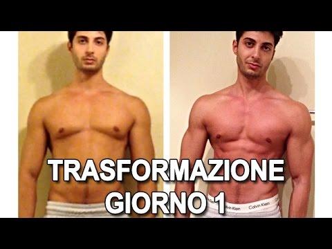 LIVE Trasformazione del Fisico Giorno 1 - Oliver Montana
