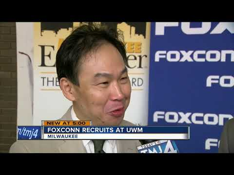 First formal Foxconn Day kicks off at UWM