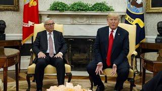 Überraschung nach Treffen von Trump und Juncker