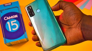TECNO Camon 15 Unboxing and Review