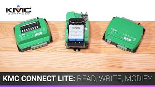 KMC Connect Lite: Read, Write, Modify