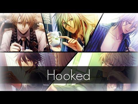 ⧔Nightcore⧕ → Hooked (Switching Vocals) |Lyrics|