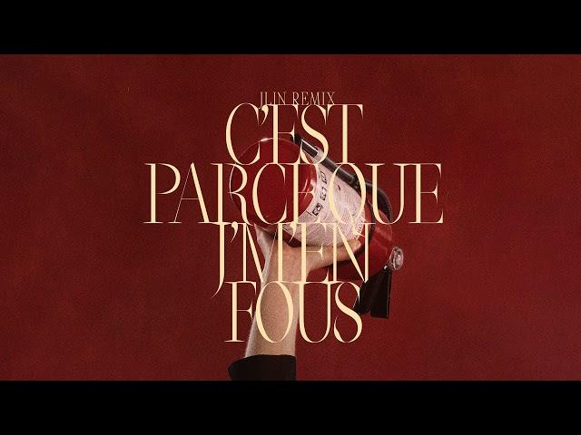 Marie Davidson & L'Œil Nu - ''C'est parce que j'm'en fous (Jlin Remix)' (Official Audio)
