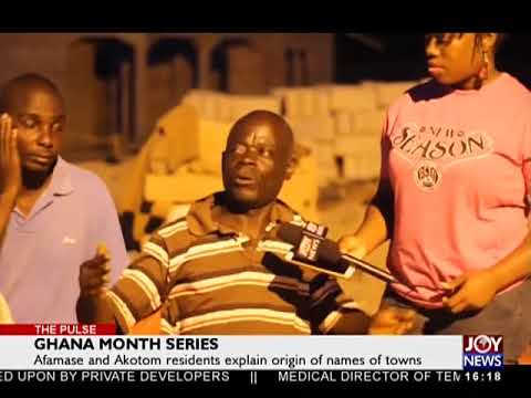 Ghana Month Series - The Pulse on JoyNews (12-3-18)