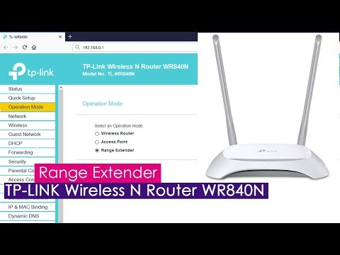 Setup Wireless Repeater Mode On Tp Link Tl Wr840n Youtube