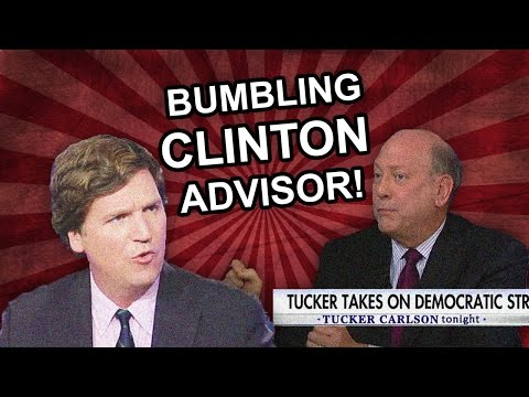 Tucker Carlson Spars With Bumbling Clinton Campaign Advisor