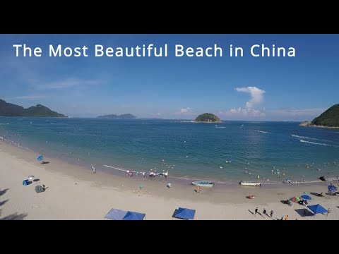 The Most Beautiful Beach on the South China Sea - aerial video by Simtoo Dragonfly