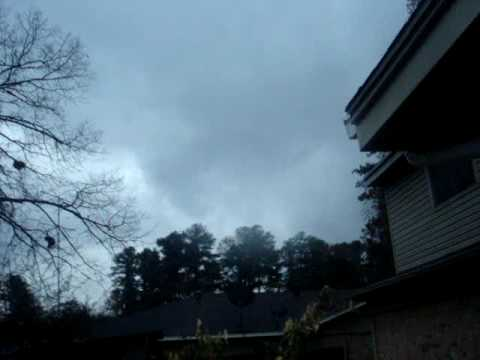 Tornadic Storm in Longview, TX on December 23, 2009