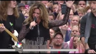Shania Twain - Swinging With My Eyes Closed (Live, Today Show)
