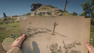 $2000 Secret Treasure Map FULL GUIDE - Red Dead Redemption 2